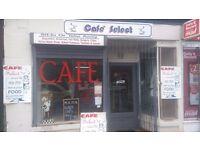 Café for sale on Grahams Road Falkirk