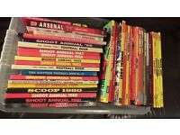 Collection of over 40 Football annuals and books, mostly hardback and in very good condition