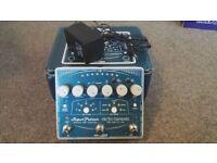 Electro-Harmonix Super Pulsar Stereo Tap Tremelo Pedal