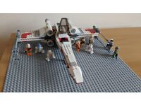 Lego X-Wing and associated mini-figs