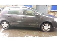 2005 Fiat Punto, full years MOT, for sale