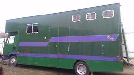 7.5 tonne horse lorry