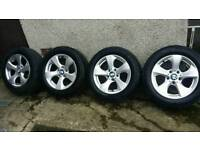 16 inch 5x120 genuine BMW 3 series alloys wheels. Trafic / Vivaro
