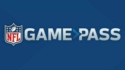 2020 NFL Game Pass Subscription Code - $99 Value GamePass Replays Film Audio