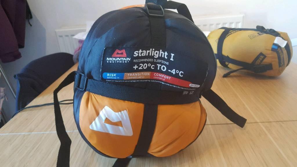 mountain equipment starlight 1 sleeping bag