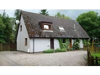2 bedroom Semi-detached cottage, Butterstone Loch, Dunkeld.