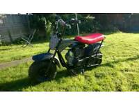 Monster moto mmb-80 motorbike classic mini bike