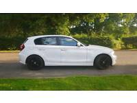 White beautiful BMW 116d SE for sale! Really clean car!