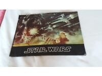 Programme from first Star Wars film 1977