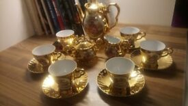 Vintage china tea service