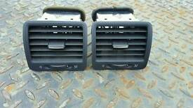 Vw Mk5 Golf Passenger and Driver Heater Vents