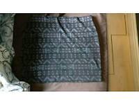 Mini bodycon skirt