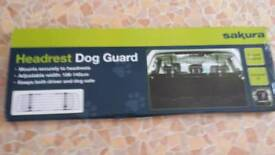 New Headrest dog guard