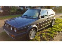 Golf GTI 1991 Mark II 3 door 1781cc 8 Valve Atlas Grey Elderly Couple bought with 40080 on clock