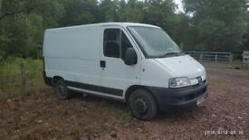 Peugeot Boxer SWB van 250 HDI may swap for shipping container