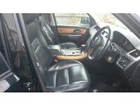Sports Range Rover black deisal 92000, 2007