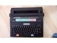 Canon Typestar 2 typewriter + 10 spare ribbon cassettes.