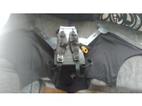 Pull out batman cape wings