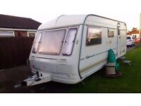 COACHMAN GENIUS 520/4 FULL AWNING LOADS OF EXTRAS COLLECT FROM DEVZIES WILTSHIRE