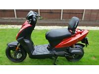 50cc kymco agility. Runs but needs work. Read notes. Can deliver