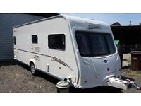 BAILEY SENATOR INDIANA FIXED BED 2007 MODEL MOTER MOVER AND AWNING