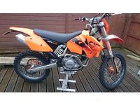 2004 KTM 525 EXC Enduro PX any bike and delivery possible