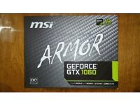 Armour - MSI Geforce GTX 1060 6GB video card