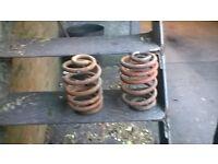 t4 lowering springs rear