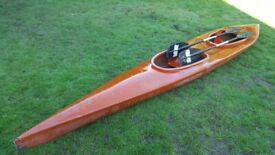 Kayak Double 16 foot with paddles.