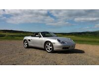 Porsche Boxster excellent example a/c heated leather, DAB radio CD, recent roof