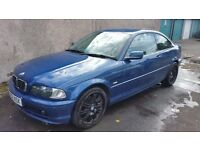 Sold sold sold Bmw 318ci , 2002 spares/repairs mot 03/17