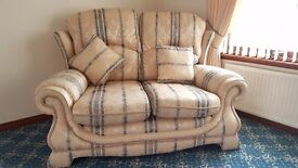 2 seater sofa with other matching items