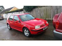 2004 Volkswagen golf 1.9 tdi 1 owner from new full service history