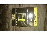 Lexar professional 128gb 1066x compact flash