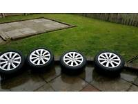 2011 audi a4 alloy wheels and tyres
