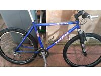 For sale trek single track930 mountain bike and claud butler bike