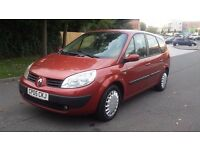 Renault grand scenic 2005 7 seater low mileage only done 47500 12 months mot HPI clear