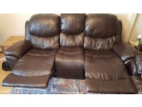 3+2 Leather Sofa ***GREAT VALUE*** COLLECTION ONLY