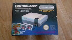 Nintendo control deck