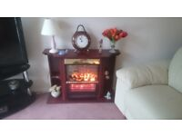 Electric fan heater 3kw with flame effect