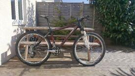 XC Mountain Bike Full Carbon 10.5 kg