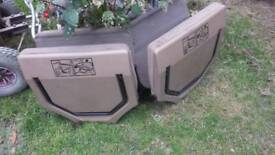 Landrover dickie seats