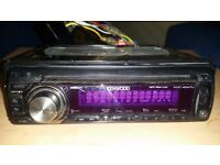 Kenwood headunit - KDC-4547U - -MP3/WMA/AAC