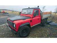 Land Rover defender 110 2.5 TIPPER