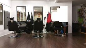 Good Deal Salon Chairs Mirror & Trolley