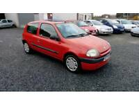 01 Renault Clio 1.2 3 door 68000 Mls MOT March 18 good driver ( can be viewed inside Anytime