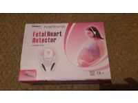 Maternity heart rate monitor