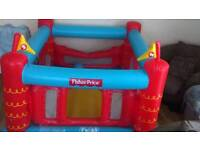Fisher price bouncy castle