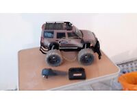 Childrens toy remote control Landrover jeep