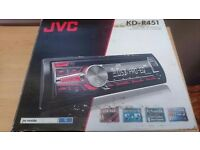 Jvc usb/aux cd player
